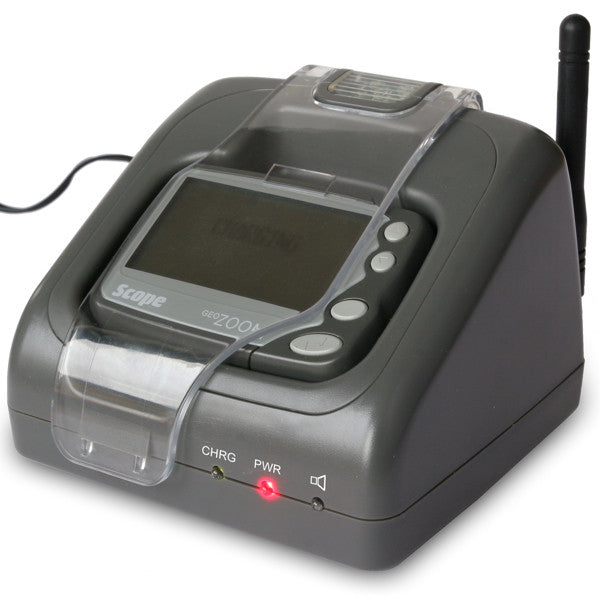image of geo 85zaa on-site pager nightstand charger/docking unit