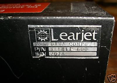 Learjet Air Data Computer 311811-600, aka KDC-481 065-0082-03,  065-05041-0009, 125-00743-0000, 122-01317-0000.
