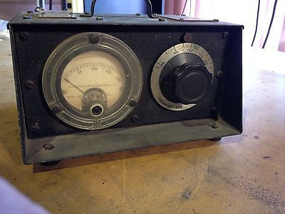 Western Electric I-106-A Field Strength Meter 100 Mcs- 160 Mcs