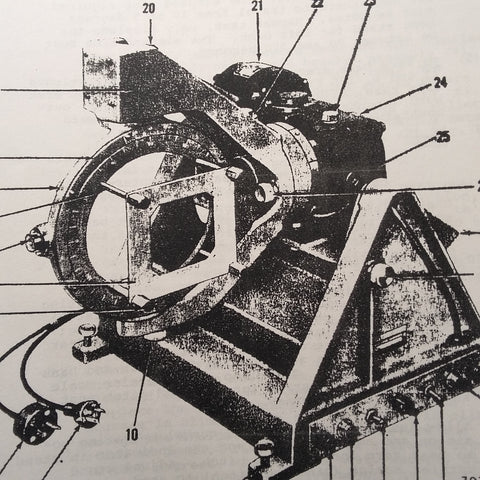 Bendix 1976910, 1978128 & 1990529 Attitude Gyro Overhaul & Parts Manual.  Circa 1970, 1983.