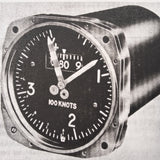 Kollsman Sensitive Maximum Allowable Airspeed Indicator 1701 series, K-3, D-9 Overhaul Manual. Circa 1953, 1956.