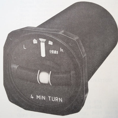 RCA 35 Rate Gyro Turn & Bank Overhaul Manual. Circa 1968.