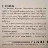 Pioneer Elect Tachometer Alternators 2253, 2255, 2261, 2263, 2266, 2267, 2269, 2270, 2271, 2272 Test Procedure Manual. Circa 1944.