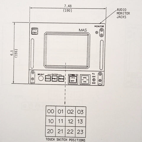 Matsushita Avionics RD-AV3006 Series Component Maintenance Parts Manual.
