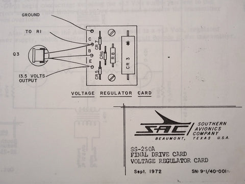 Southern Avionics NDB SS-250A RadioBeacon Install & Troubleshooting Manual