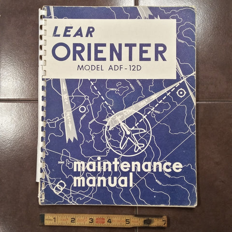 Lear ADF-12D Maintenance Parts Manual.