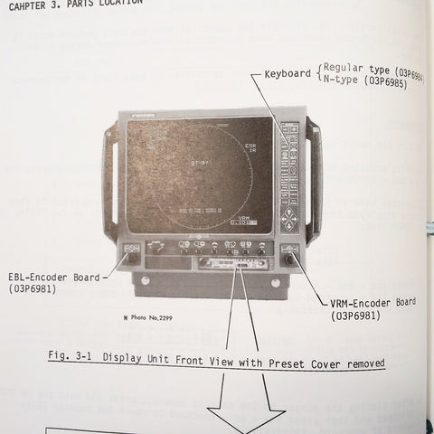 Furuno Marine Radar FR-1510DS and FR-1530DS Service Manual.