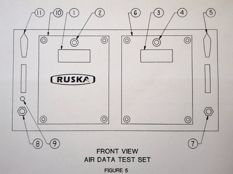 Ruska Air Data Test Set 6610 Series Operating Manual.