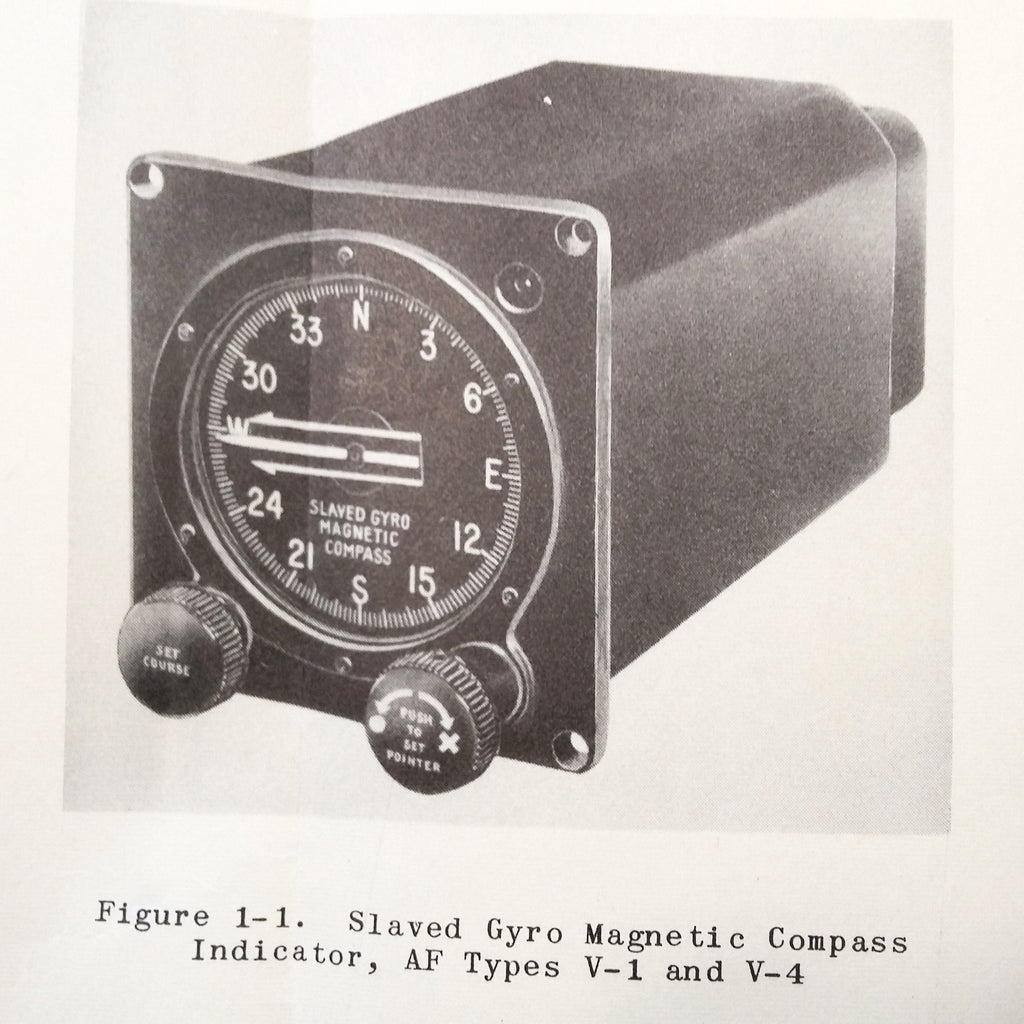 Sperry Slaved Gyro Magnetic Compass System Type J-1 & J-2 aka Gyrosyn C-1 & C-4 Service Manual.