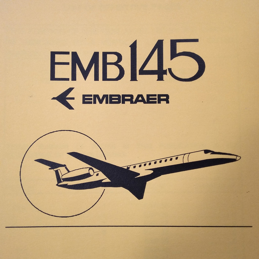 Embraer EMB 145 Legacy QRH Quick Reference Handbook. Circa 2001.