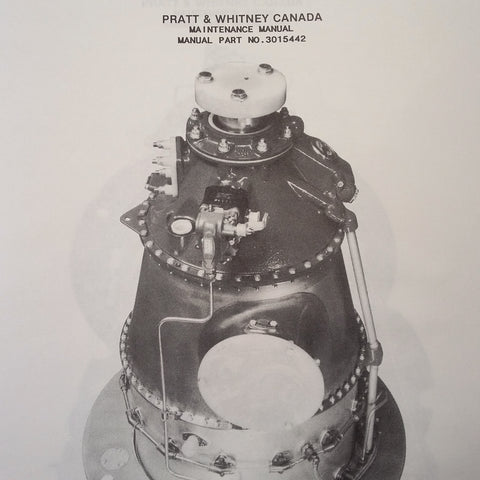 PT6A-6 and PT6A-20 Engine Maintenance Manual