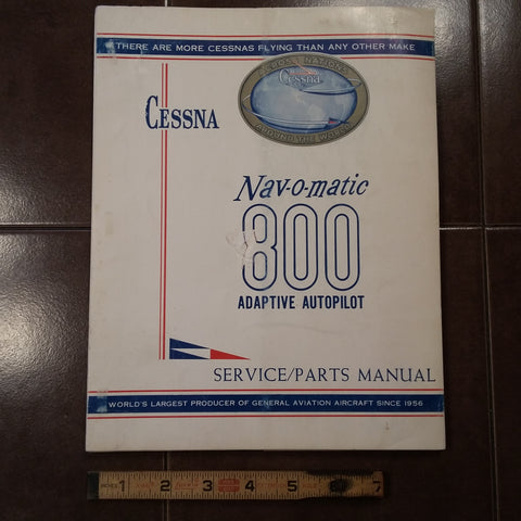 1965 Cessna ARC Navomatic 800 Service Manual.