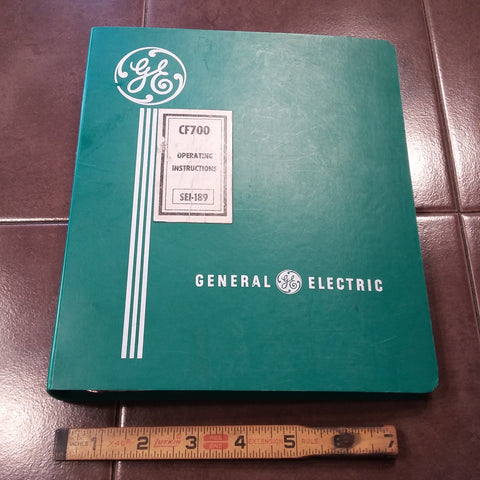 GE Turbofan CF700 Operating Manual.