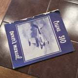 Cessna 310 Owner's Manual.