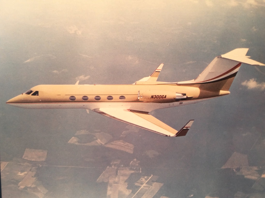"Sperry Avionics in Gulfstream III Original Sales Brochure, Tri-Fold,, 8.5 x 11""."