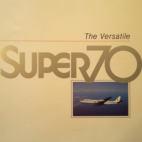 "Cammacorp ""The Versatile Super 70"" Original Sales Brochure Booklet, 64 page , 8.5 x 11""."