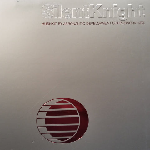 "ADC SilentKnight Hushkit Original Sales Brochure Booklet, 8 page , 9 x 12""."