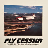 "1980 Cessna Cutlass RG Original Sales Brochure Booklet, 16 page, 8.5 x 11""."