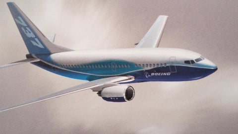 "Boeing 2006-2007 Commercial Airplanes Reference Guide Original Sales Brochure Booklet,  104 page, 4.5 x 9""."