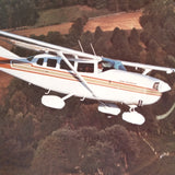 "1980 Cessna Stationairs Original Sales Brochure Booklet, 14 page, 8.5 x 11""."