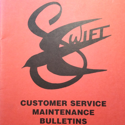 Globe Swift Service Bulletins Manual.