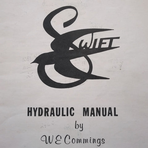 Globe Swift Hydraulic Manual.