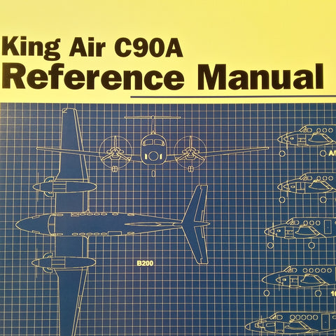Simcom King Air C90A Reference Manual.