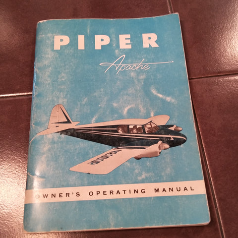 Piper Apache Owner's Handbook for PA-23 with Lycoming 0-320.