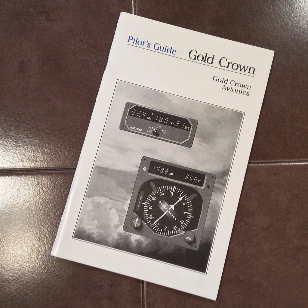 King Gold Crown Avionics Pilot's Guide.