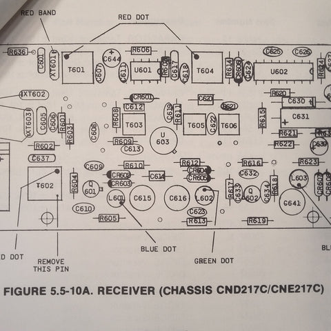 on narco 111 wiring diagram