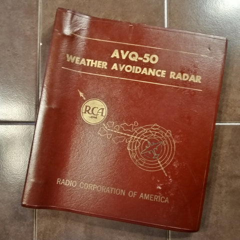 RCA AVQ 50 Radar System Overhaul Manual.