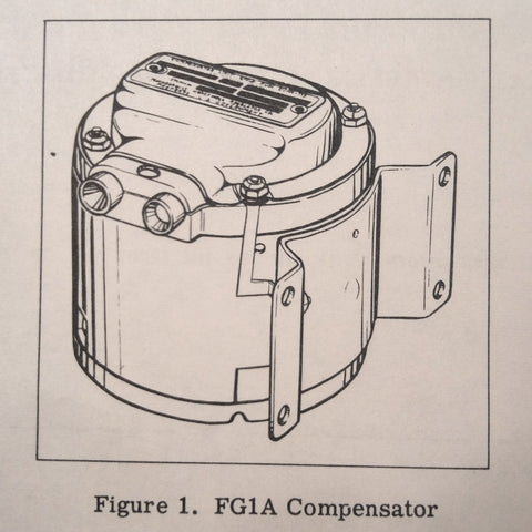 1958 Minneapolis-Honeywell Compensator FG1A-18 Parts Manual.
