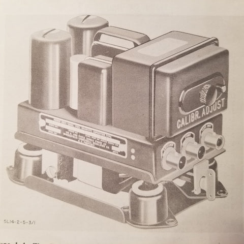 1959 Minneapolis-Honeywell EG5A & EG5B Power Unit Overhaul Manual.