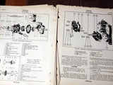 Chandler-Evans Injection Carburetor 1900CPB-3 Overhaul Service Parts Manual.  Circa 1944.