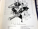 Chandler-Evans Hydro-Metering Carburetor 58CPB-4 Overhaul Service Parts Manual.  Circa 1944.