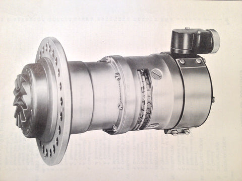 1945 Eclipse-Pioneer Direct Cranking Electric Starter 1416-6-A & 1416-8-A Ops, OHC & Parts Manual.