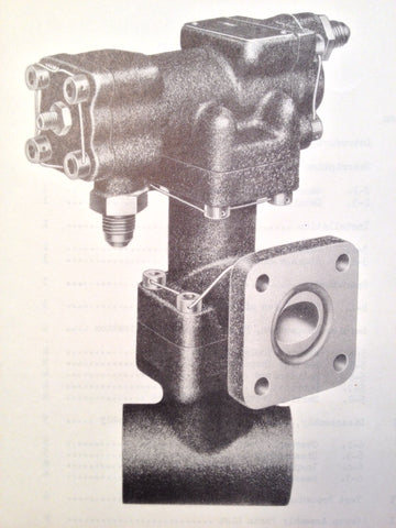 1952 Bendix Hydraulic Pressure Regulator 407484 407484-2 407484-3 407484-4 407484-5  Service & Parts Manual.