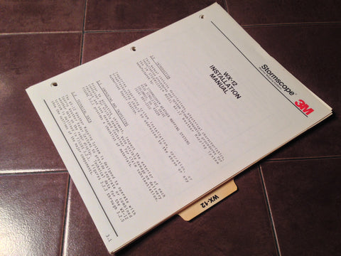 WX-12 Install Manual .