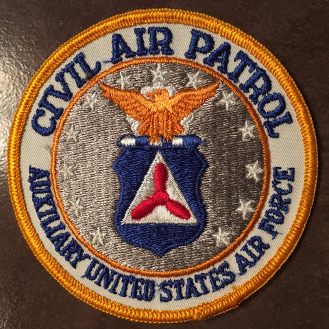 "4"" CAP Civil Air Patrol Sewable Patch."