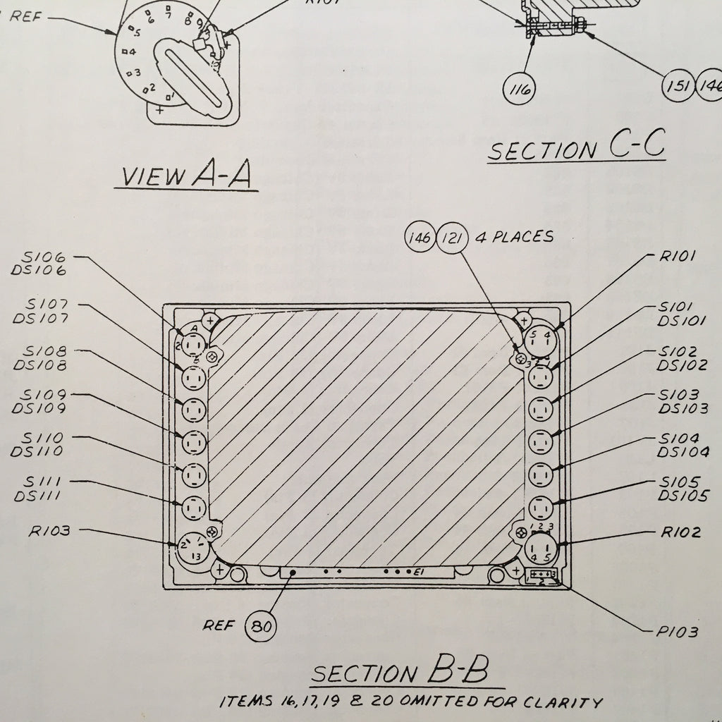 Piper Super Cub PA-18 Parts Listing Catalog.  Circa 1949.
