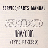Cessna ARC RT-328D Nav Com Service Manual.