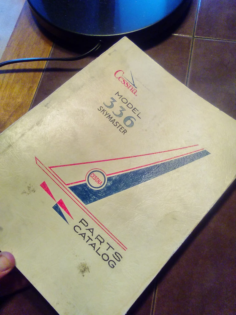 1964 Cessna 336 Skymaster Parts Manual.
