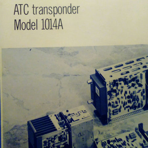 Wilcox 1014A Transponder Install Manual.