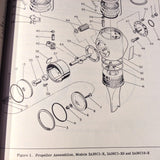 McCauley Met-L-Matic 2A36C Constant Speed Propeller Service Manual.  Circa 1954.