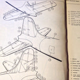 Douglas DC-4 Structural Repair Manual. Circa 1948.