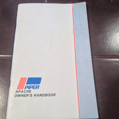 Piper Apache PA-23-150 & PA-23-160 Owner's Manual.