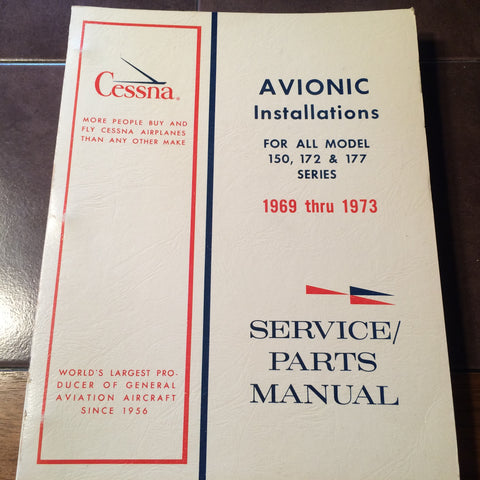 Cessna ARC Factory Wiring Book 1969-1973 for Cessna 150, 172 & 177.
