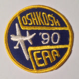 "Original EAA Oshkosh 1990 Patch.  Never used 3"" Cloth."