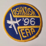 "Original EAA Oshkosh 1996 Patch.  Never used 3"" Cloth."