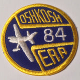 "Original EAA Oshkosh 1984 Patch.  Never used 3"" Cloth."
